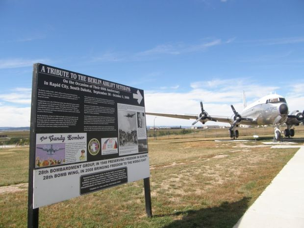Rosinenbomber in South Dakota