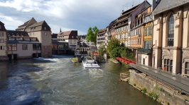 The inner city is surrounded by a river and a canal - you can take boat tours.