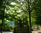 Sculpture in the Garden of Castle Hohenschwangau