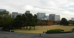 The Imperial Palace Gardens.