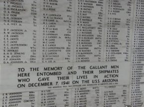 Remember the Fallen - Pearl Harbor