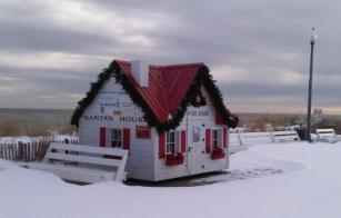 Santa's House at Rehoboth Beach , DE